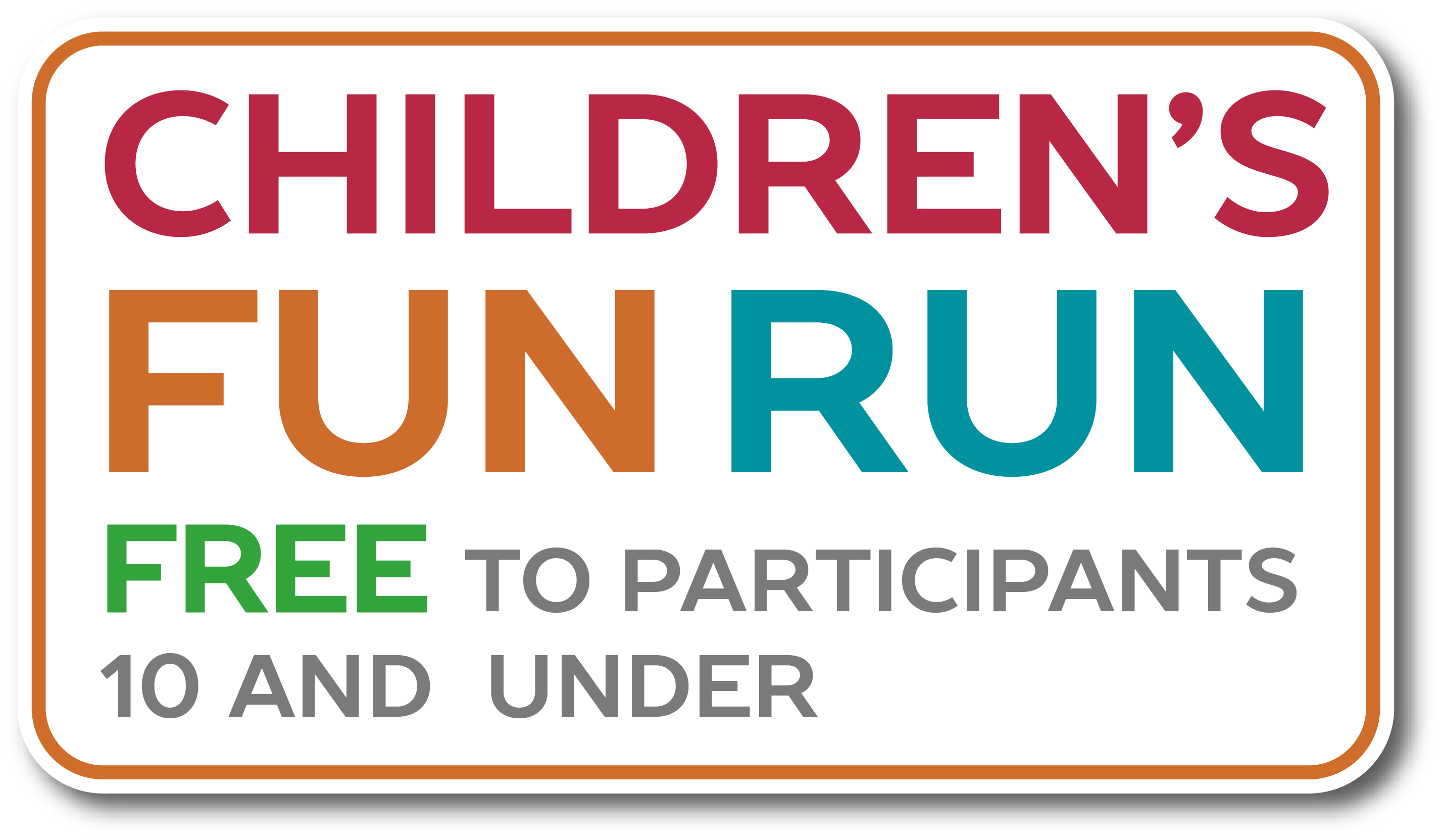 CHILDRENS FUN RUN